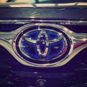 ❓Löydätkö sinä Toyotan logosta kirjaimet T, O, Y, O, T, A ❓ Huhu kertoo, että siellä ne olisivat 😎  #juhanauto #oulu #kuusamo #r...