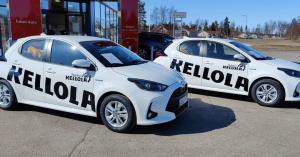 💪 Terveisiä Raahesta. Maanrakennus- ja metsäkoneurakoinnin erityisosaaja Veljekset Kellola hankki alleen Toyota Yaris Hybridit 🌿...