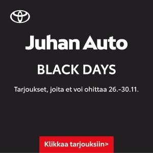 🔥 Tulikuumia tarjouksia ➡️  https://www.juhanauto.fi/yritys/ajankohtaista/juhan-auton-black-days-tarjoukset.html  #juhanauto #ou...